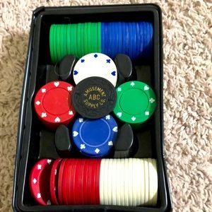 ♥️ ♦️ Poker Chip Set ♣️ ♠️